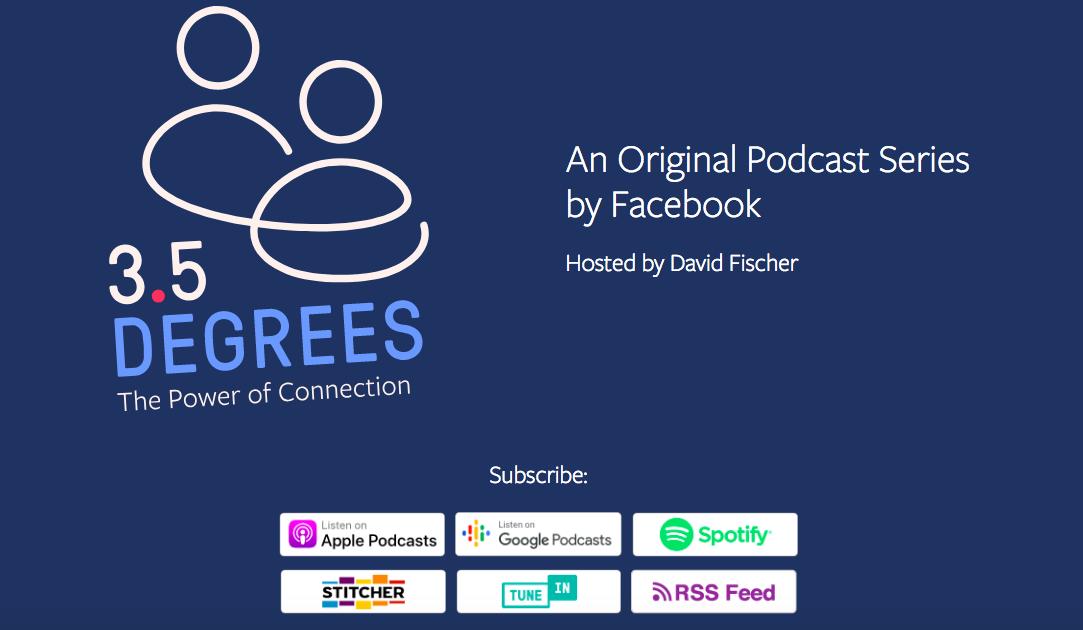facebook, podcast